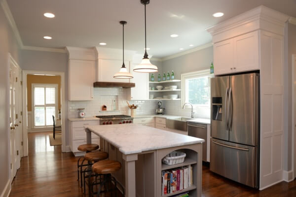 The final result of a Difabion kitchen custom remodel.